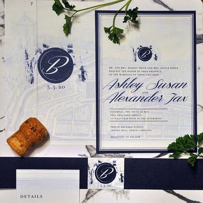 Custom Invitations by revelry + heart - 004