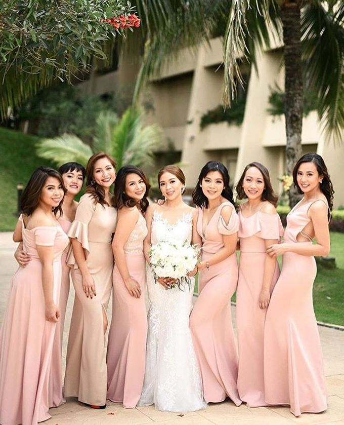 Customized Bridesmaids Dresses by White Label Bridal - 013