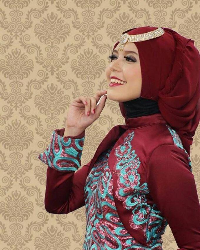 Gaun Modern Tradisional by Inet Rumah Pengantin - 008