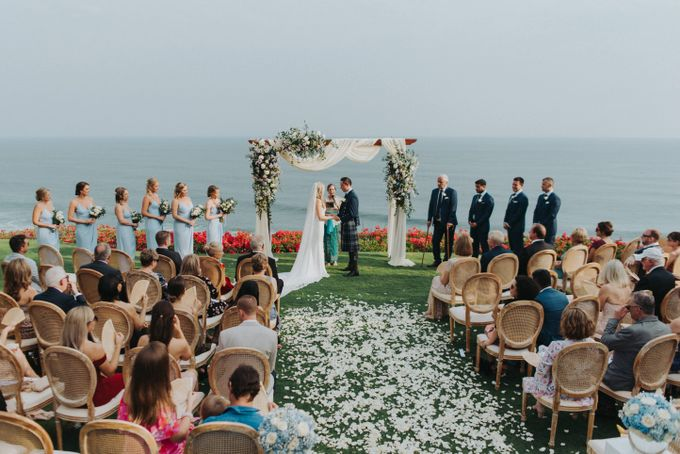 Beautiiful Clifftop Wedding of Kyle & Kelly by Silverdust Decoration - 004
