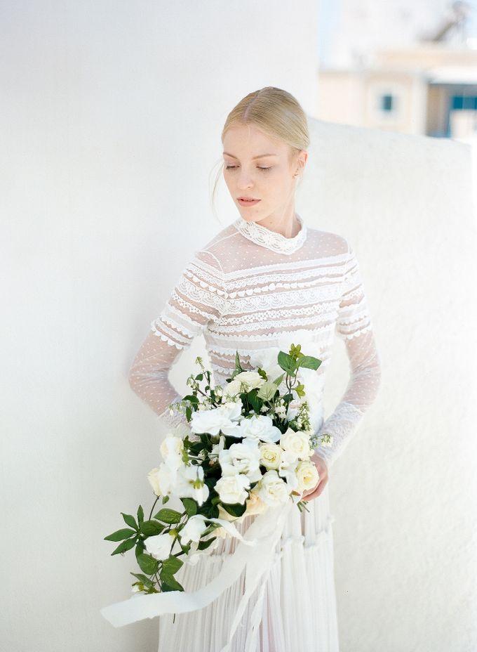 ARTISTIC WEDDING DRESS geometric greek period inspiration dress by Sotiris Tsakanikas Photography - 008