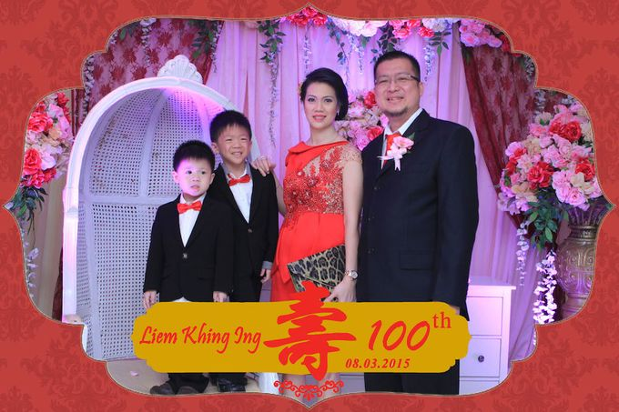 One Hundred Birthday of Liem Khing Ing by After 5 Photobooth - 010