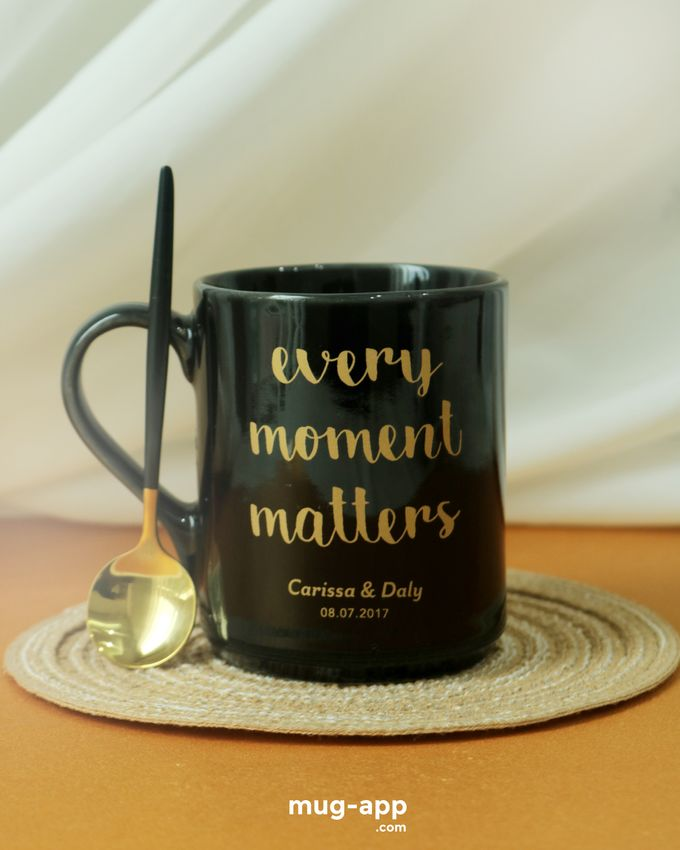 Carissa & Daly by Mug-App Wedding Souvenir - 001