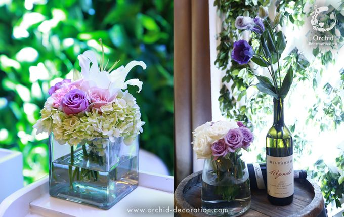 A sweet ending to a new beginning by Orchid Florist and Decoration - 008