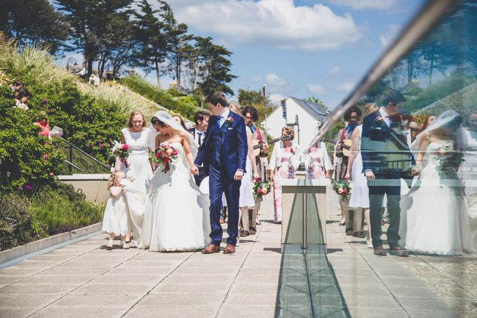 Clare and Ben's Marine Theatre wedding, Lyme Regis by Andrew George Photography - 018
