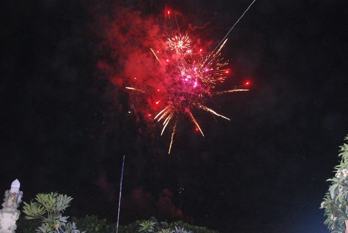 Fire works and lighting by Bali Angels - 014