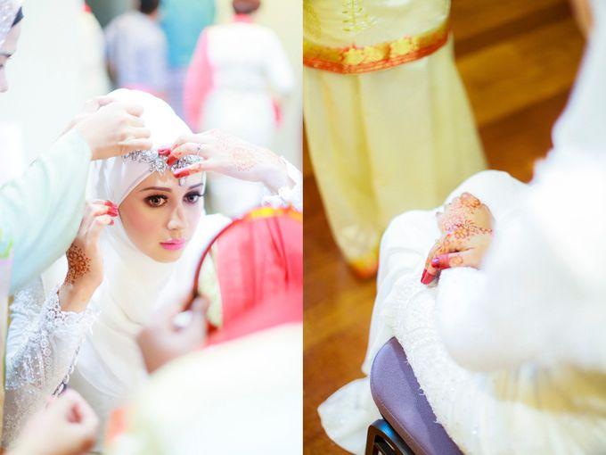 Zuhairah & Fuad by The Rafflesia Wedding & Portraiture - 012