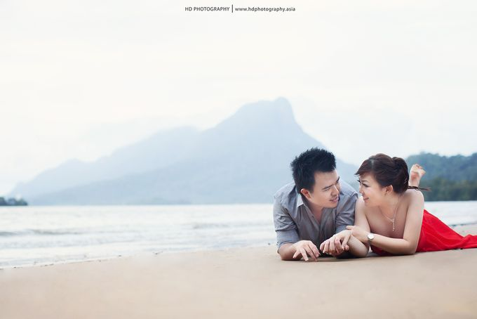 Rizky & Yeni Pre-Wedding by HD Photography - 011
