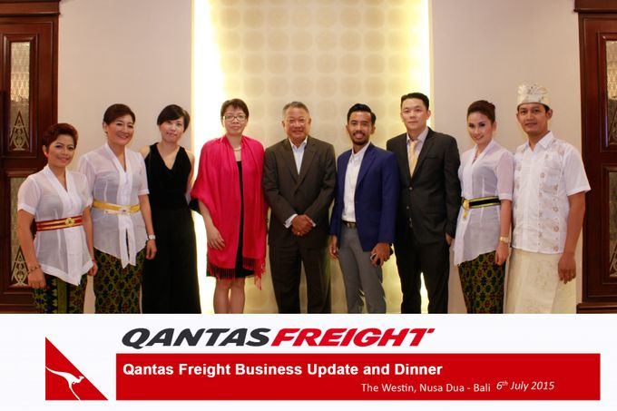 Qantas Freight Business Update and Dinner by Happy Moment PhotoBooth - 005