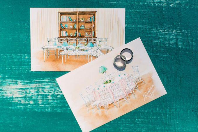 Tiffany Wedding by Caramel Events - 017