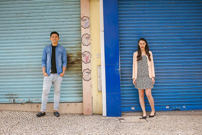 Silver and Jenn Macau Engagement Session by Leighton Andante - 022