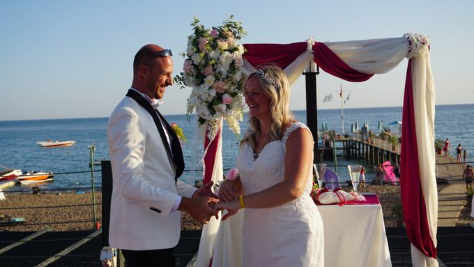 Wedding by the sea in Antalya -Lucy & Daniel- by Wedding City Antalya - 018