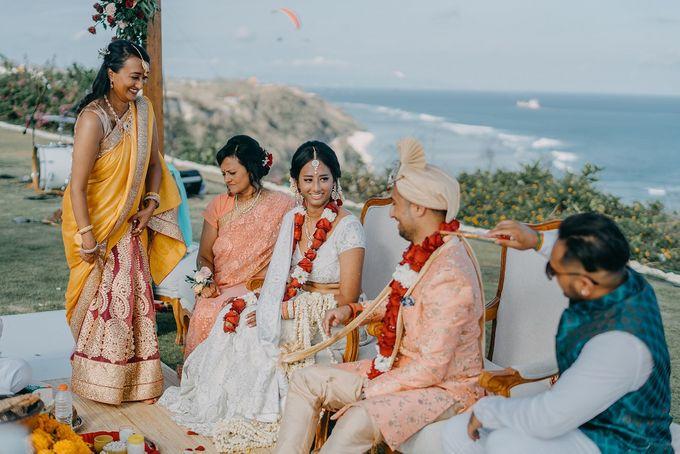 Nagisa Bali Wedding for Neel & Davina by Nagisa Bali - 019