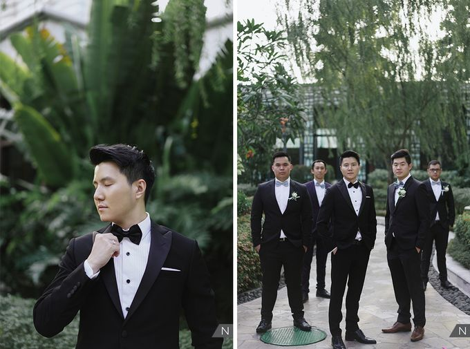 Felix & Hanna Wedding by Shangri-La Hotel - 019
