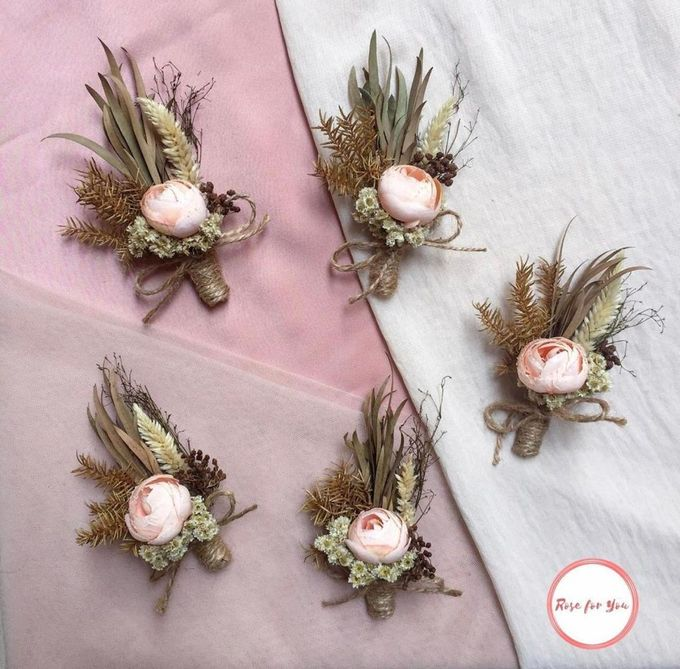 Boutonniere & Corsage by Rose For You - 019