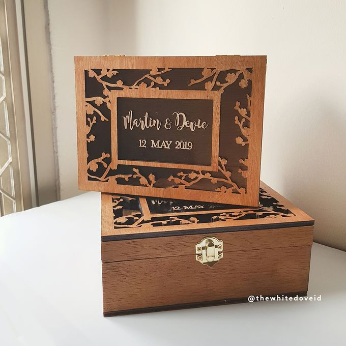 Wedding Box by The White Dove - 004