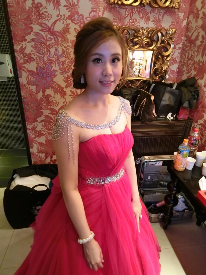 Johor Make Up and hairdo for wedding by MEB Entertainments - 001