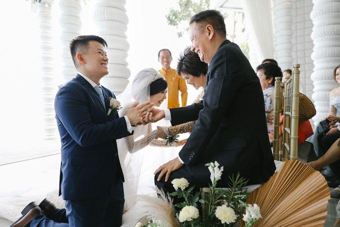 The Wedding of Johnsen & Fortunata by BDD Weddings Indonesia - 019