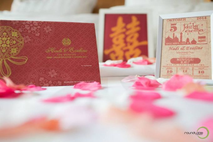 Hadi & Eveline Wedding by Adel's House of card - 006