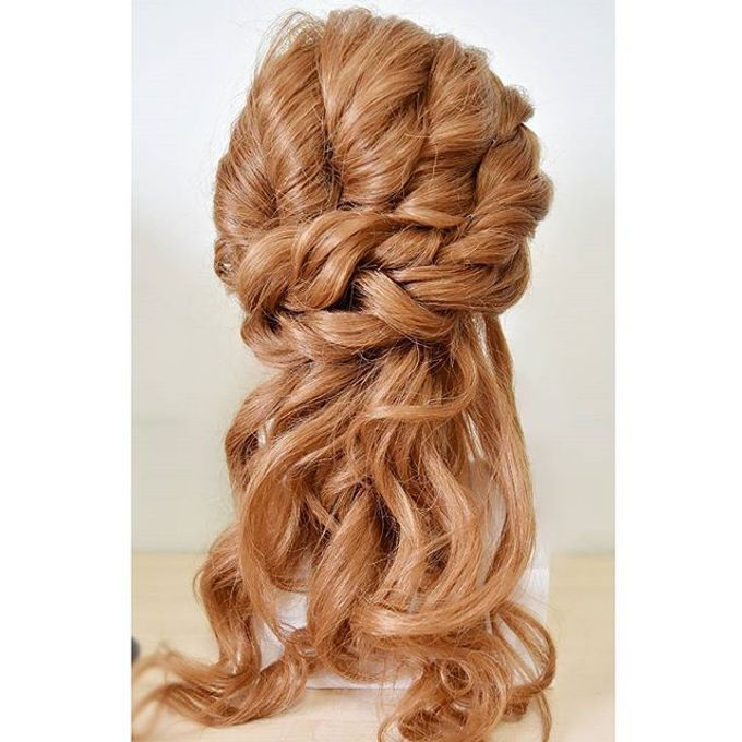 Half Up & Let Down & Pony Bridal Hairstyles by Après Makeup - 009