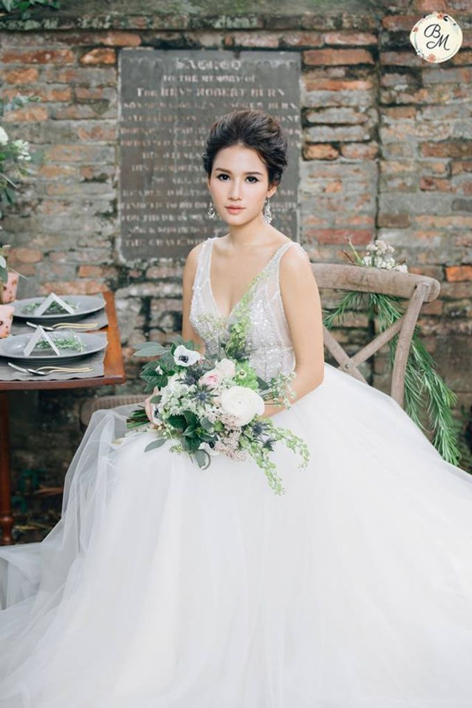 A Spring Wedding by Cleo Chang - Makeup . Hair - 004