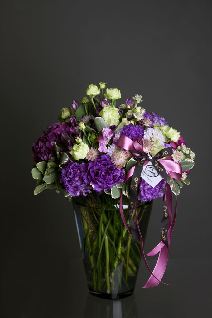 Flora Styling in vase by Beato - 026