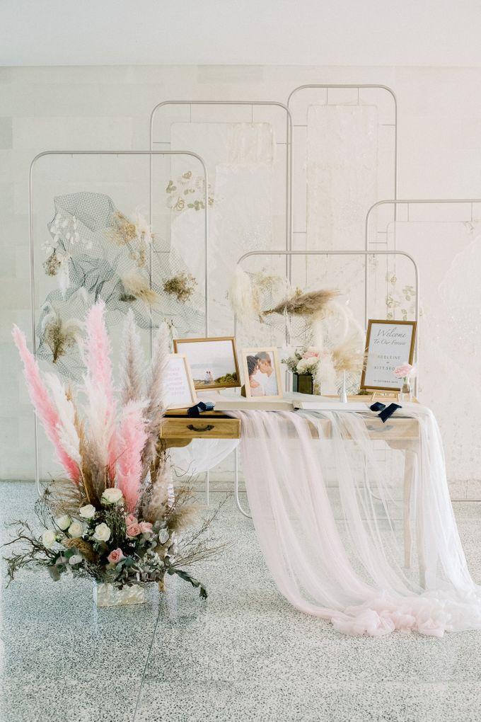 The Wedding of Adeleine & Kitt by Tirtha Bridal - 005