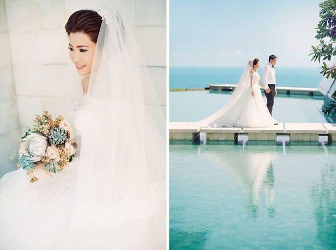 Indah & Robin Cultural Bali Wedding by Flying Bride - 014