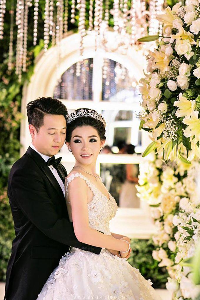 WEDDING DAY FOR RUSSEL & STELLA by Fedya Make Up Artist - 004