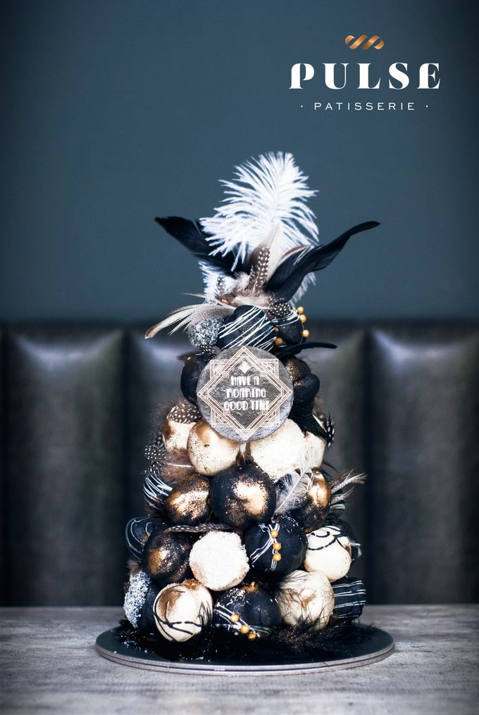 Wedding CROQUEMBOUCHE -Cream Puff Tower by Pulse Patisserie - 001