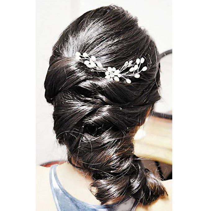 Half Up & Let Down & Pony Bridal Hairstyles by Après Makeup - 007