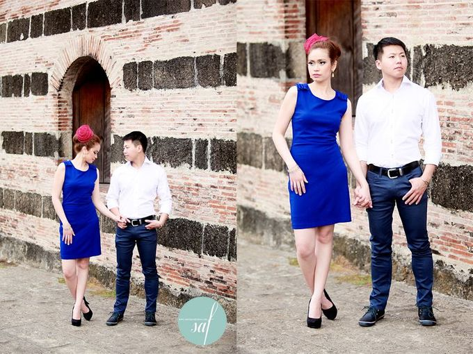 Allan & Jane Engagement shoot by Nadine Rayo Hair and Makeup Artistry - 001