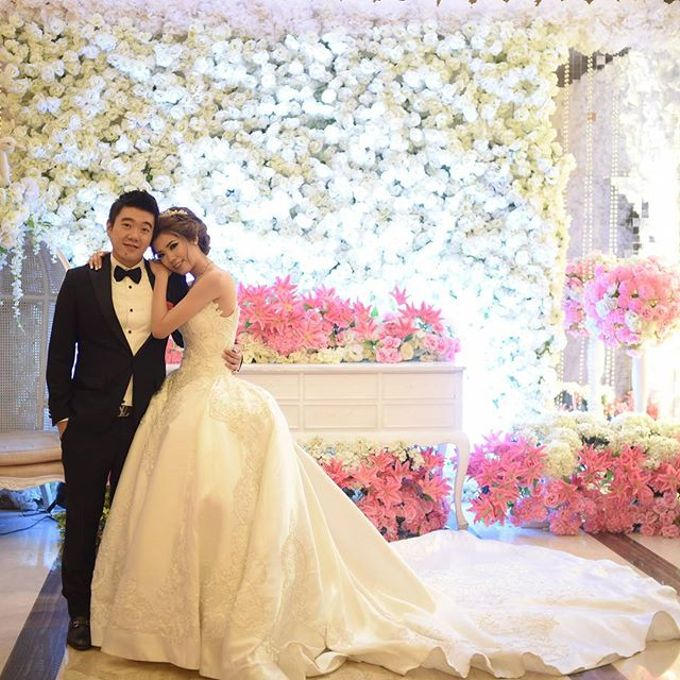 Wedding Wiliam & Pauline by Fuchsia Decoration - 001
