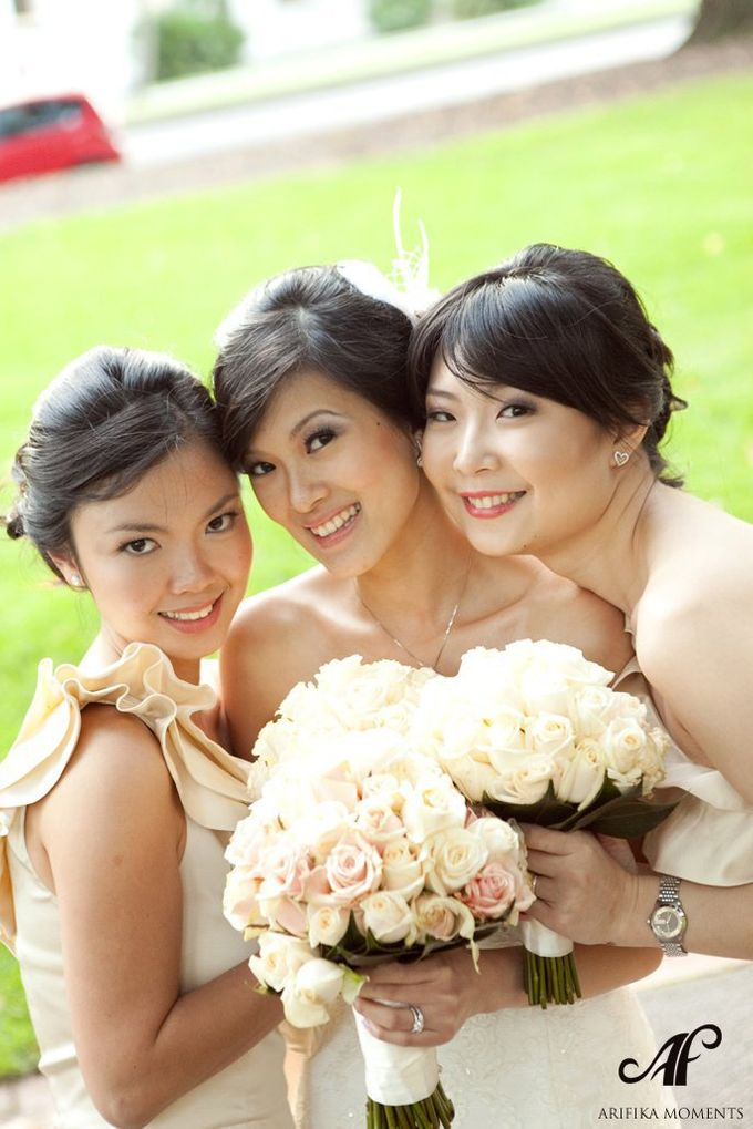Bridal party makeup by Elly Liana Makeup Artist - 012