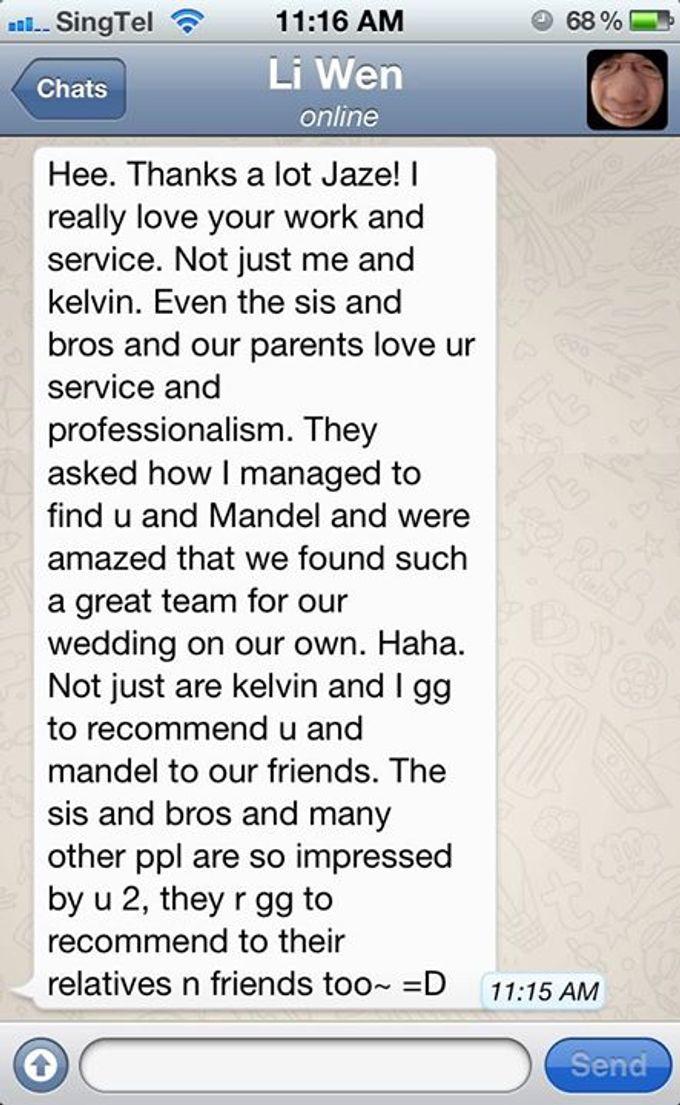 Real Wedding Testimonials by Mojoideas - 005