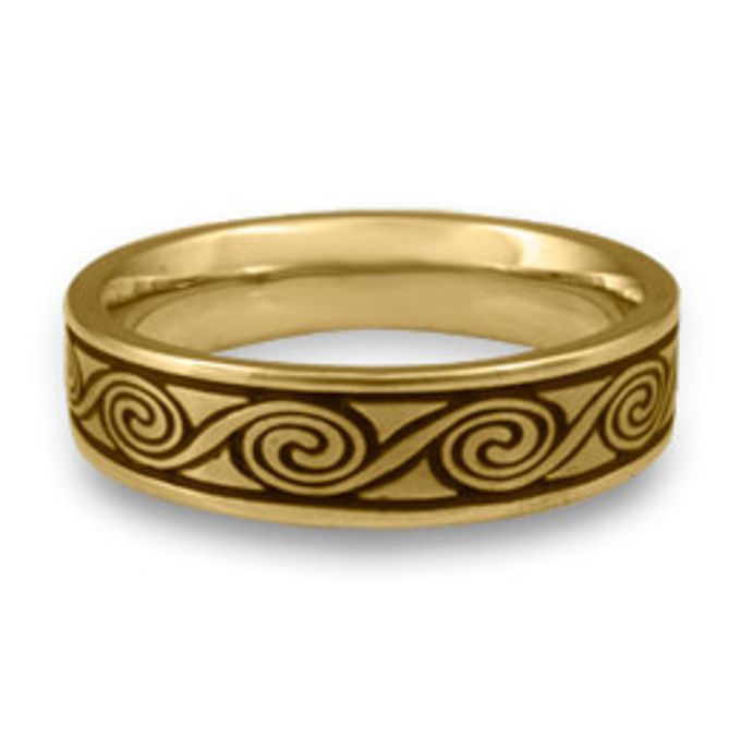 wedding ring engrave & finger print d'sign by V&Co Jewellery - 008