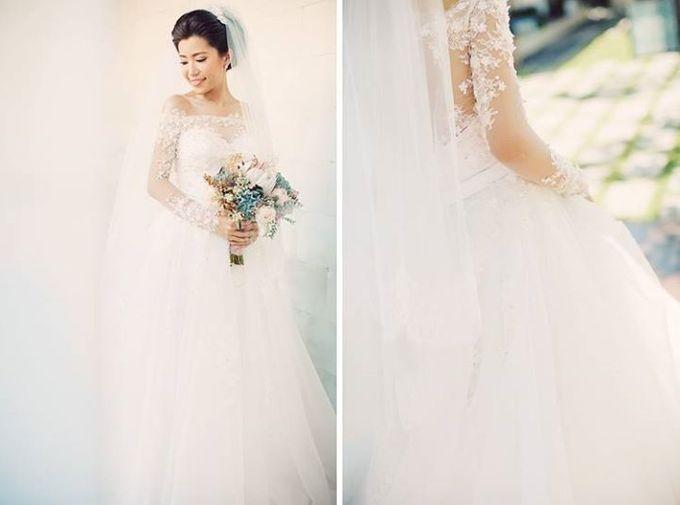 Indah & Robin Cultural Bali Wedding by Flying Bride - 013