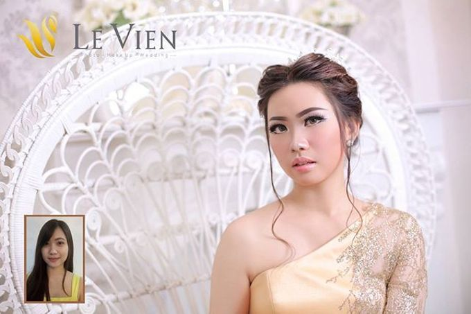 Pre Wedding Makeup and Hairdo by LeVien by LeVien - 005
