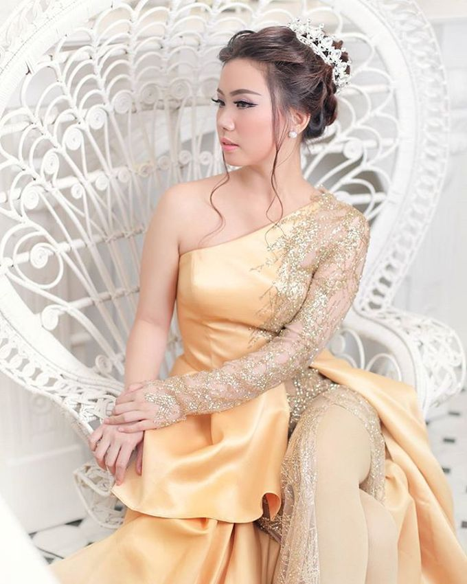 Pre Wedding Makeup and Hairdo by LeVien by LeVien - 004