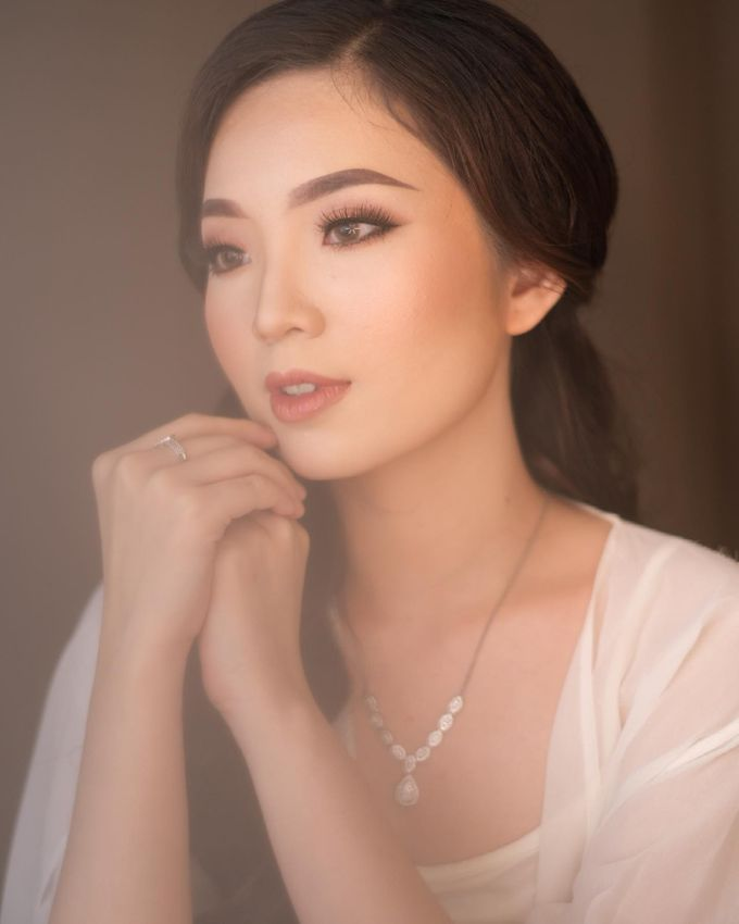 Bride Ms. Feby ✨ by zhumakeup - 002