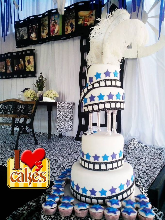 Wedding Cakes by I Love Cakes - 005