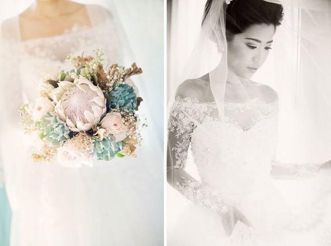 Indah & Robin Cultural Bali Wedding by Flying Bride - 003