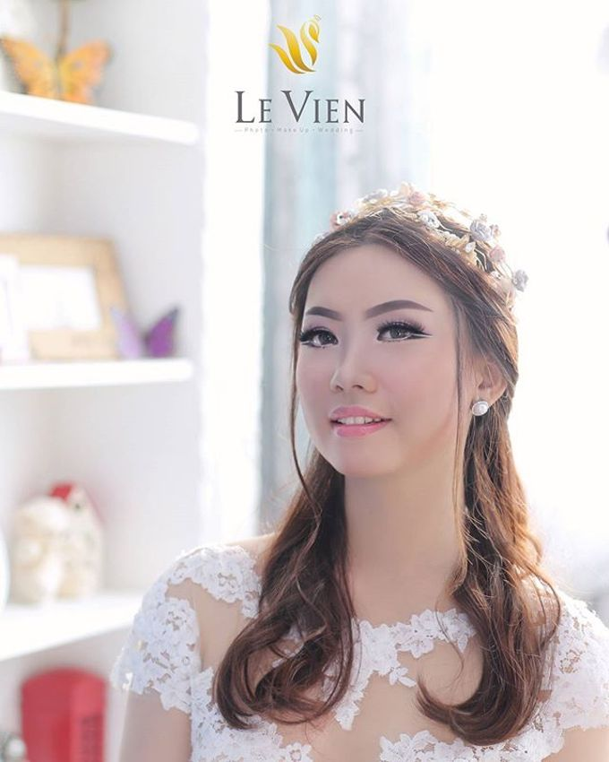 Pre Wedding Makeup and Hairdo by LeVien by LeVien - 003