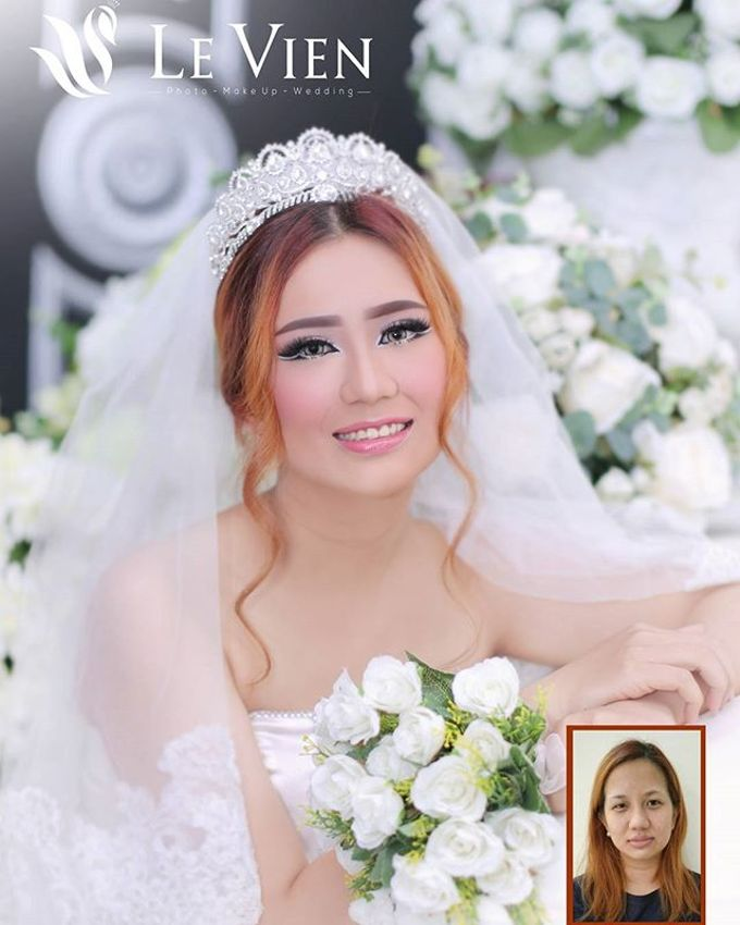 Pre Wedding Makeup and Hairdo by LeVien by LeVien - 002