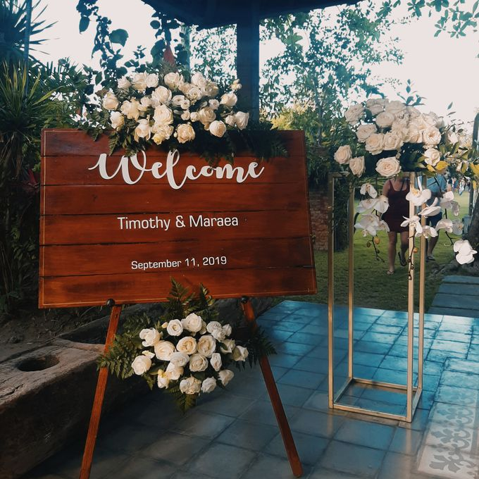 The Wedding of Timothy & Maraea by Miracle Wedding Bali - 012