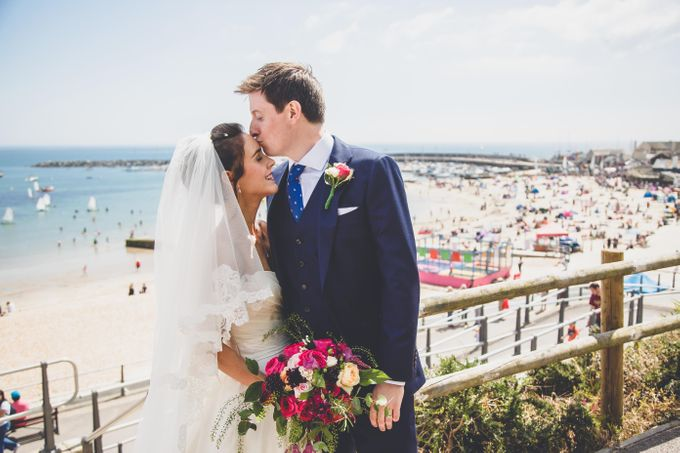 Clare and Ben's Marine Theatre wedding, Lyme Regis by Andrew George Photography - 019