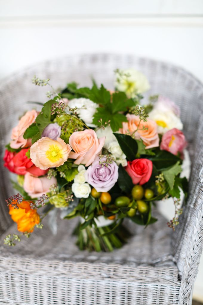 Bridal Party by Affair with George  Florals & Event Styling - 003