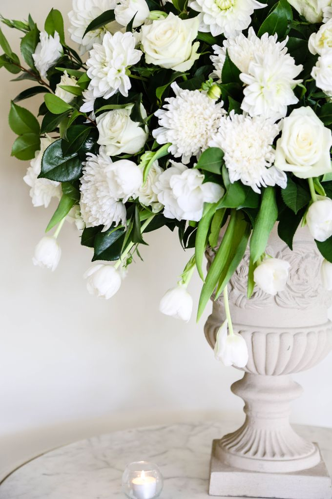 Ceremony and Reception by Affair with George  Florals & Event Styling - 010