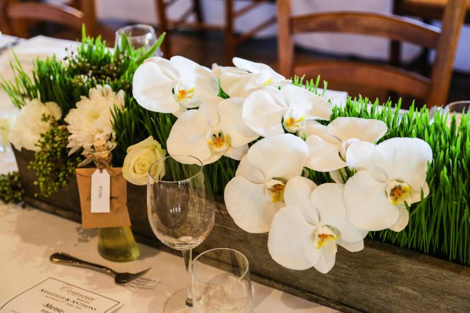 Ceremony and Reception by Affair with George  Florals & Event Styling - 011