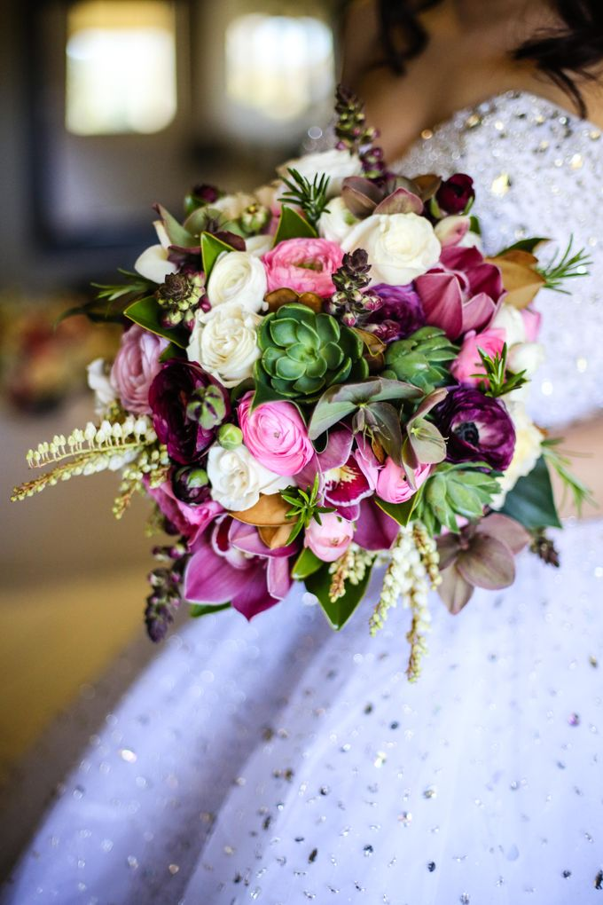 Bridal Party by Affair with George  Florals & Event Styling - 005